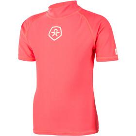 Color Kids Timon UPF Camiseta Niños, fiery coral